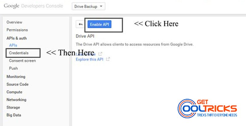 Creating a client id on google developer console get cool tricks - Developer console google ...